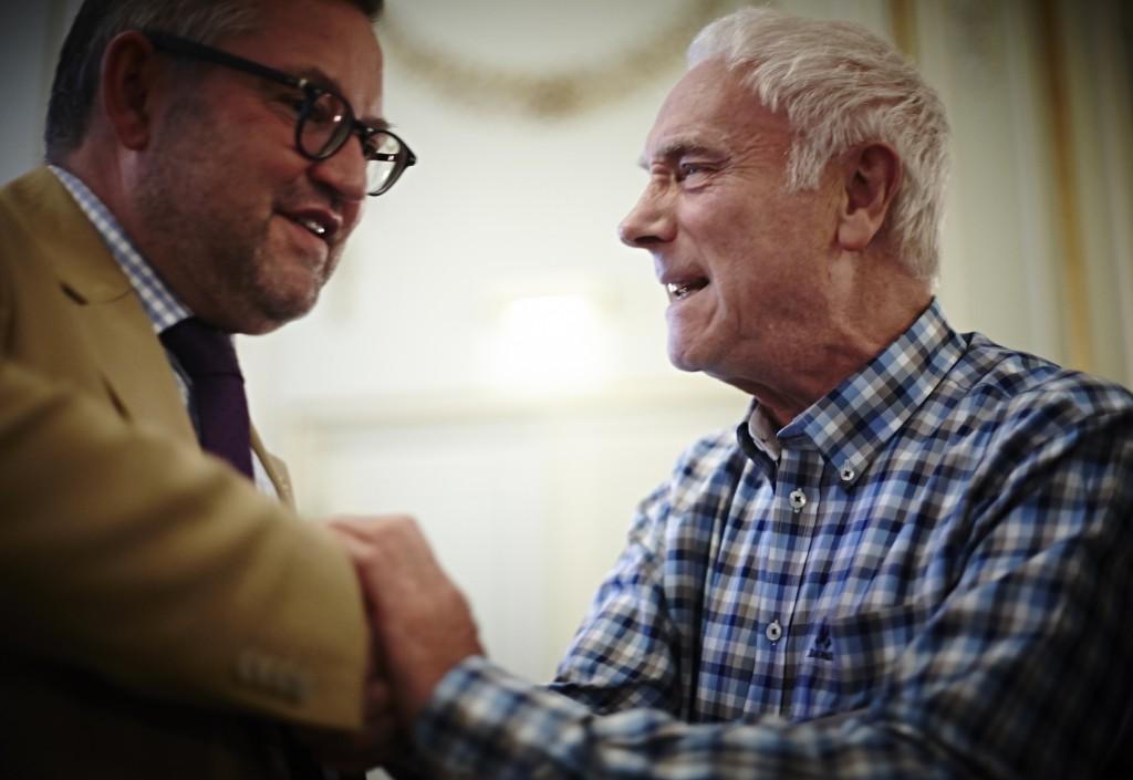 Dr. Nicolaus and Prof.Emeritus Per Løkken