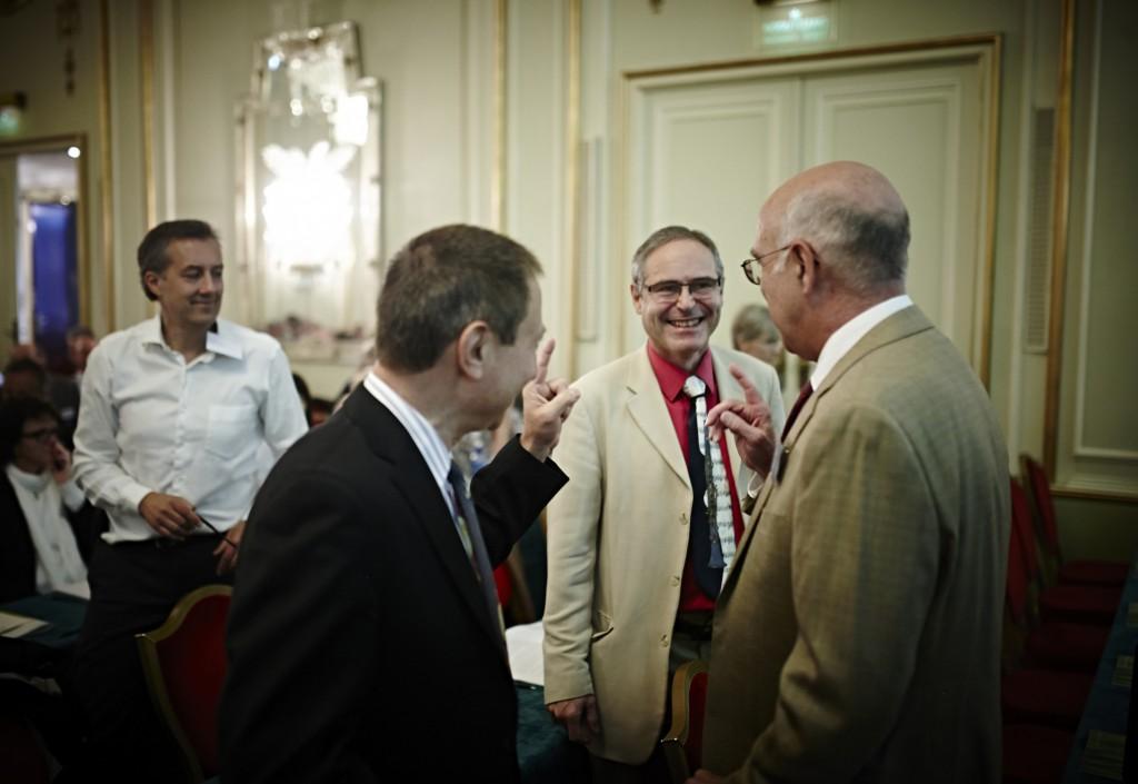 Dr. Horowitz, Prof. Perronne and Dr. MacDonald