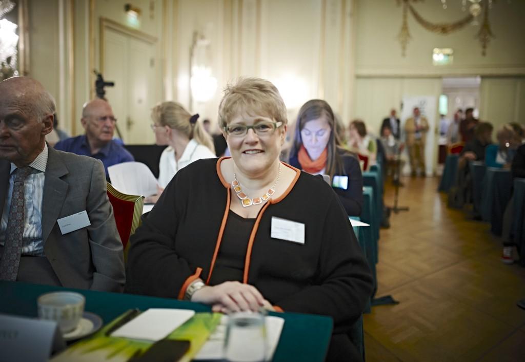 Liberal Party Leader (Venstre), Trine Skei Grande.